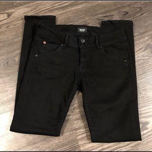 HUDSON black Collin skinny jeans #W42CCN